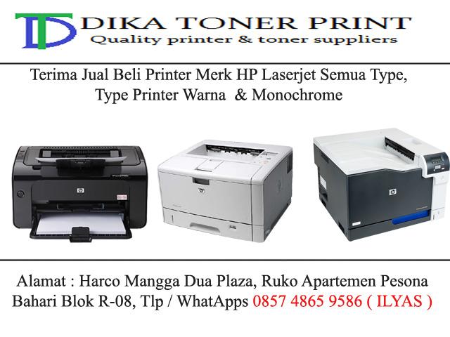Jual Beli Printer Bekas Daerah Jakarta Pusat Harga Tinggi